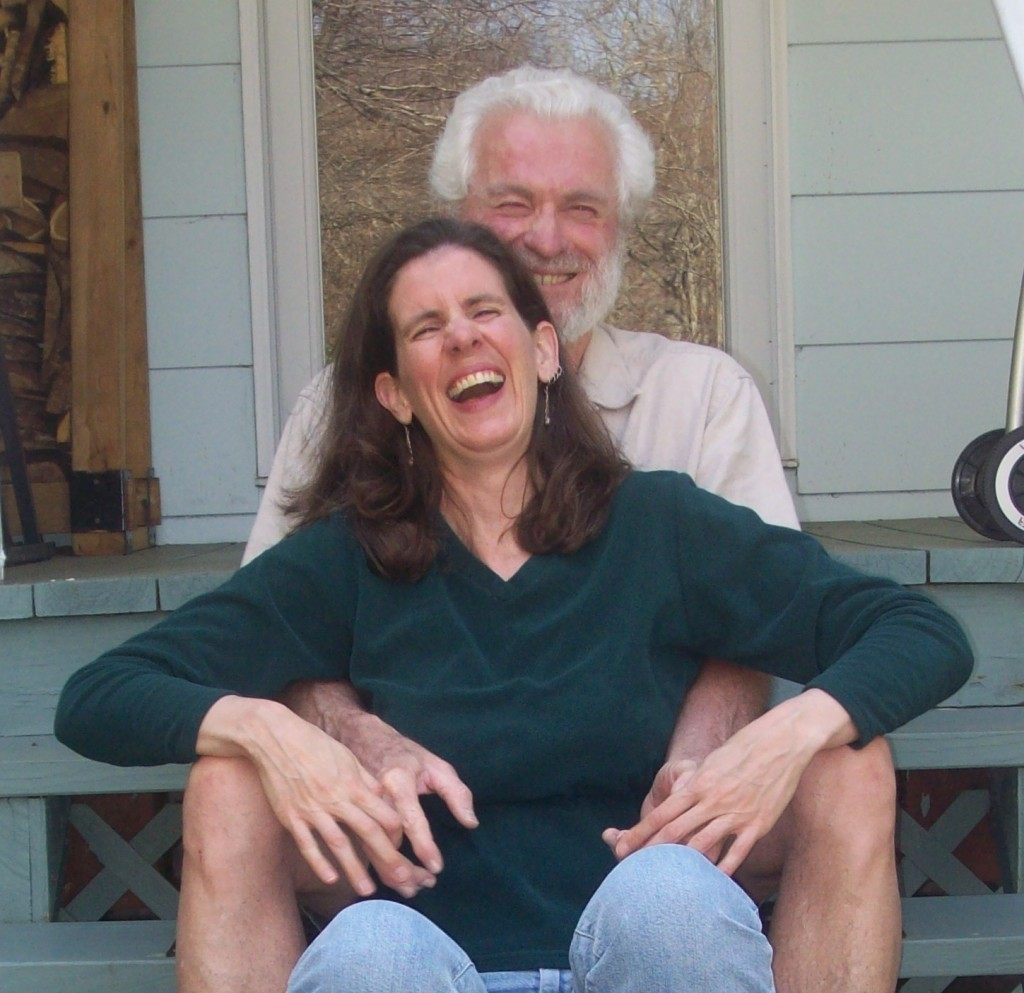 photo of author and her husband