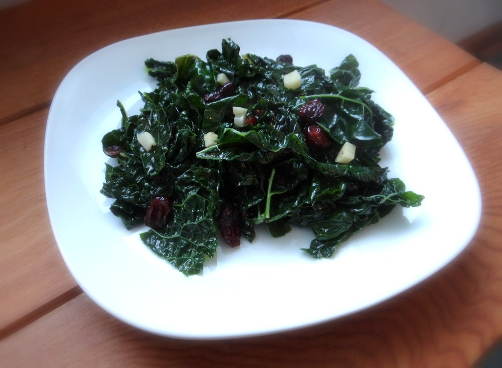 Kale with Cranberries | Phoenix Helix