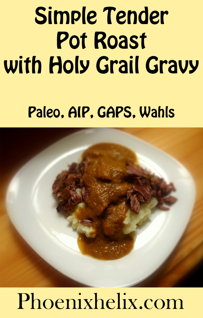 Simple Tender Pot Roast with Holy Grail Gravy | Phoenix Heli