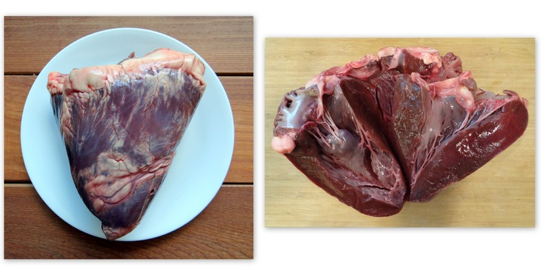 photo of beef heart