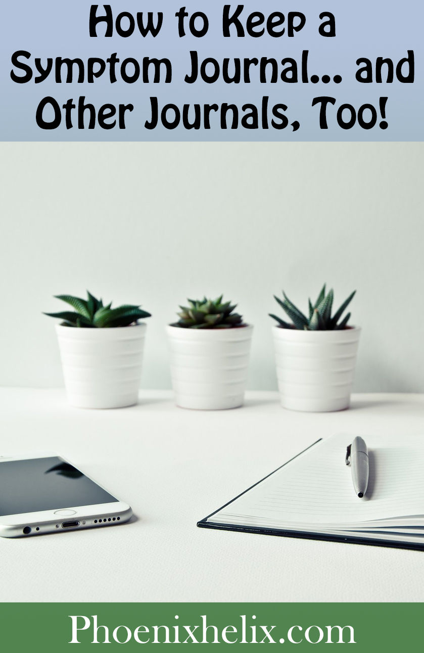 How to Keep a Symptom Journal...and Other Journals, Too! | Phoenix Helix