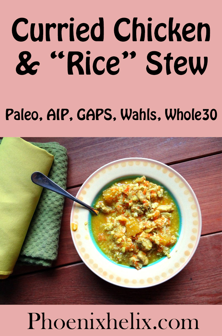 Curried Chicken & Rice Stew | Phoenix Helix
