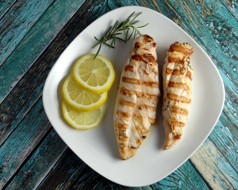 Grilled Lemon Garlic Rosemary Chicken Breasts | Phoenix Helix