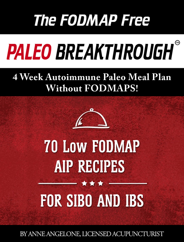 SIBO, FODMAPs and a 4-Week Meal Plan
