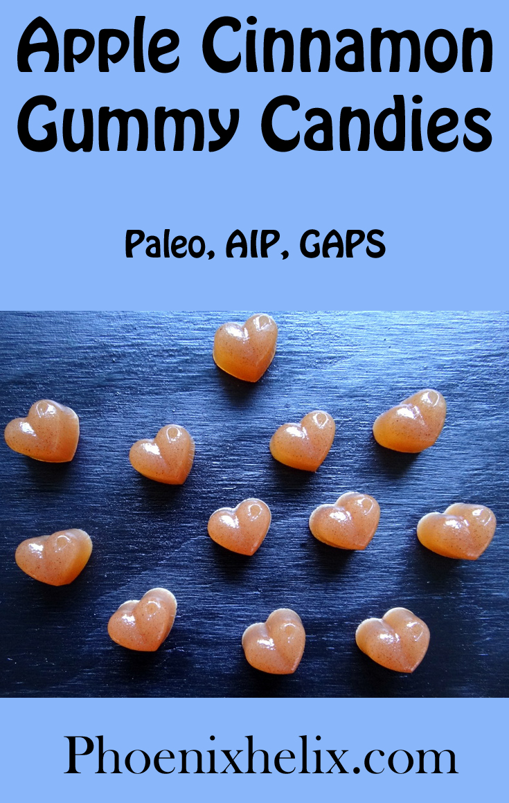 Apple Cinnamon Gummy Candies | Phoenix Helix