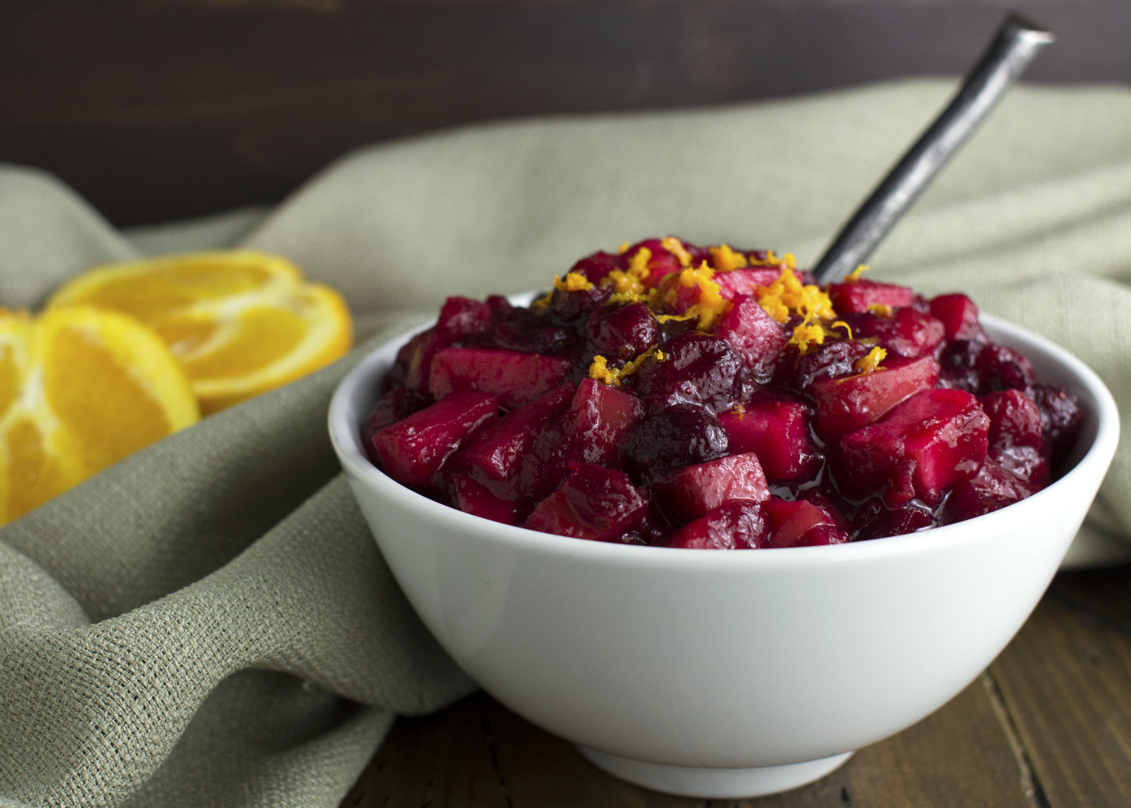 Cranberry Sauce with Apples and Ginger | Phoenix Helix