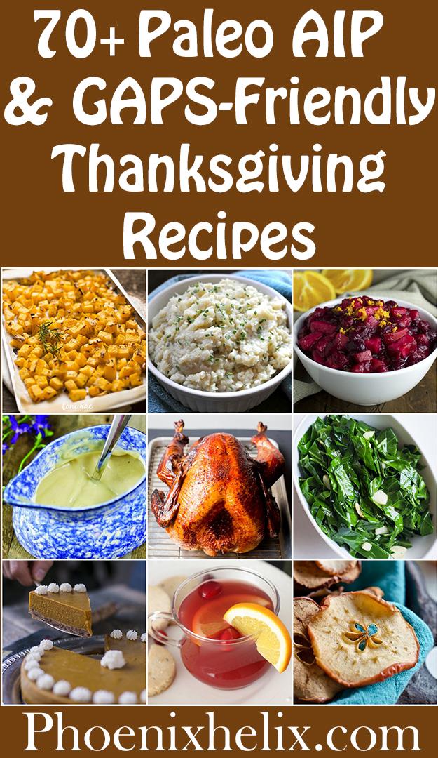 60+ Paleo AIP & GAPS-Friendly Thanksgiving Recipes | Phoenix Helix
