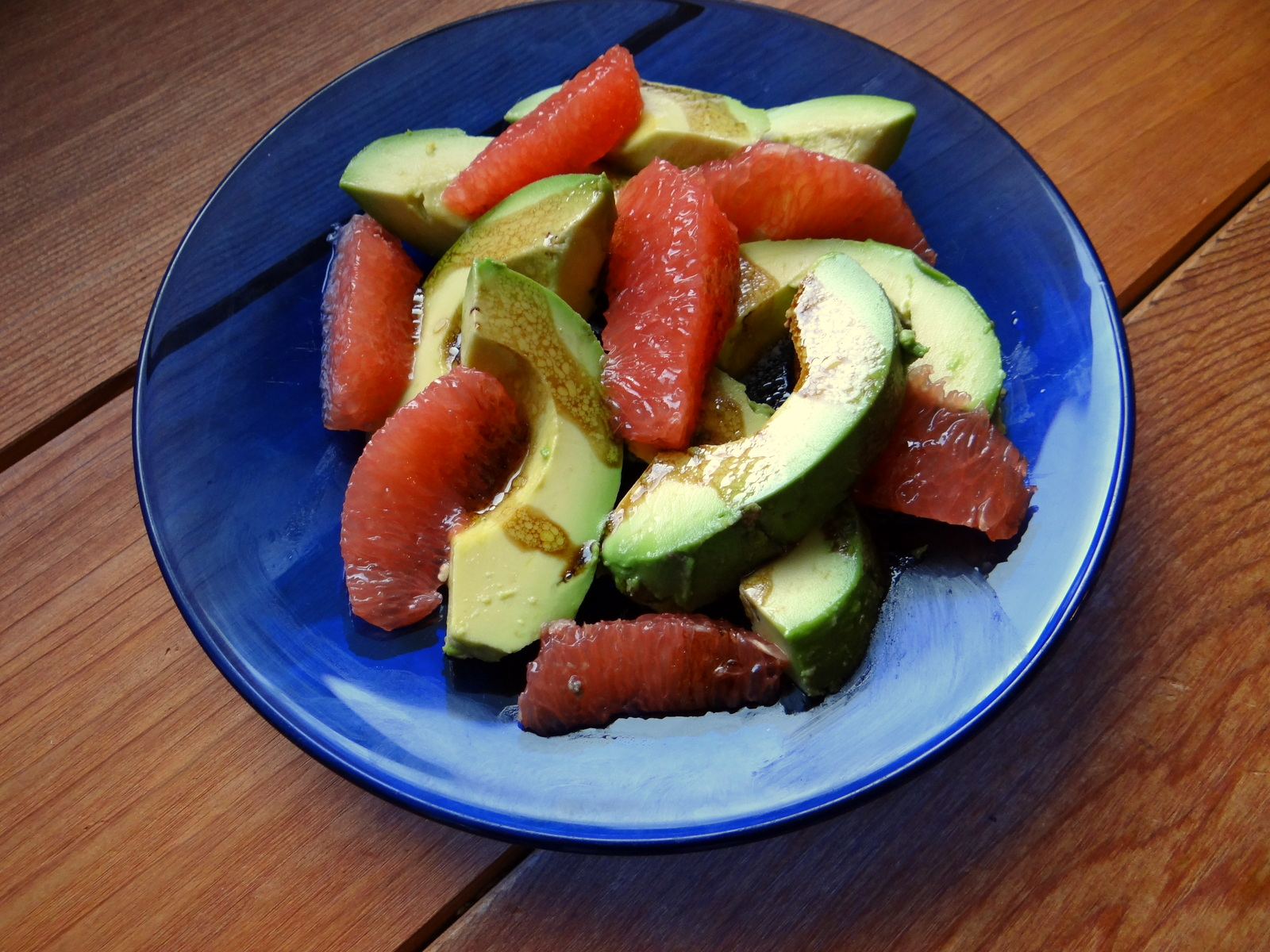 Pink Grapefruit & Avocado Salad | Phoenix Helix