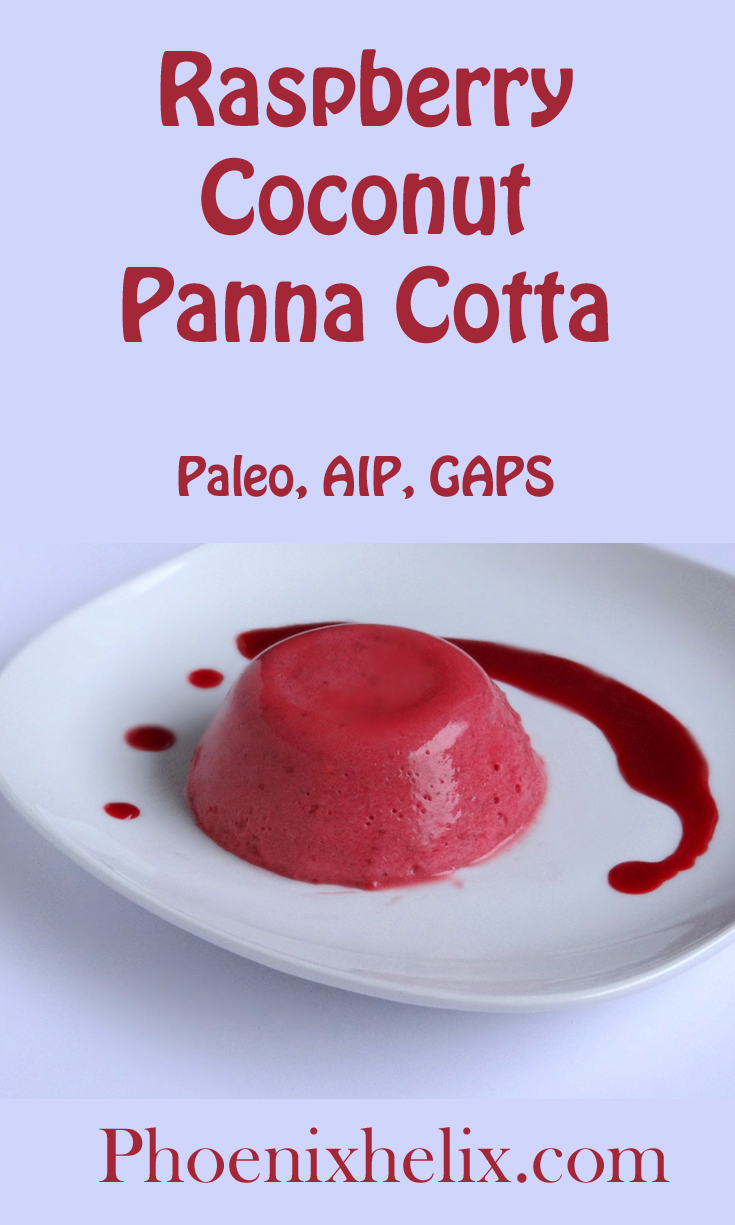 Raspberry Coconut Panna Cotta | Phoenix Helix