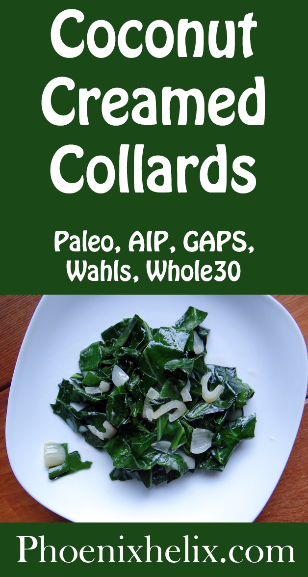 Coconut Creamed Collards | Phoenix Helix
