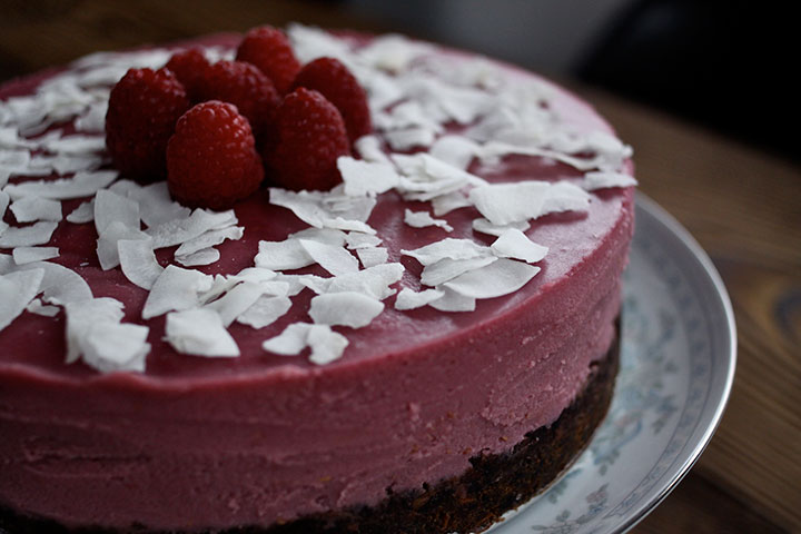 "Raspberry ""Cheesecake"" 