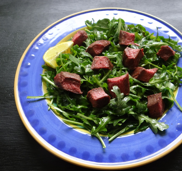 Steak Salad with Arugula