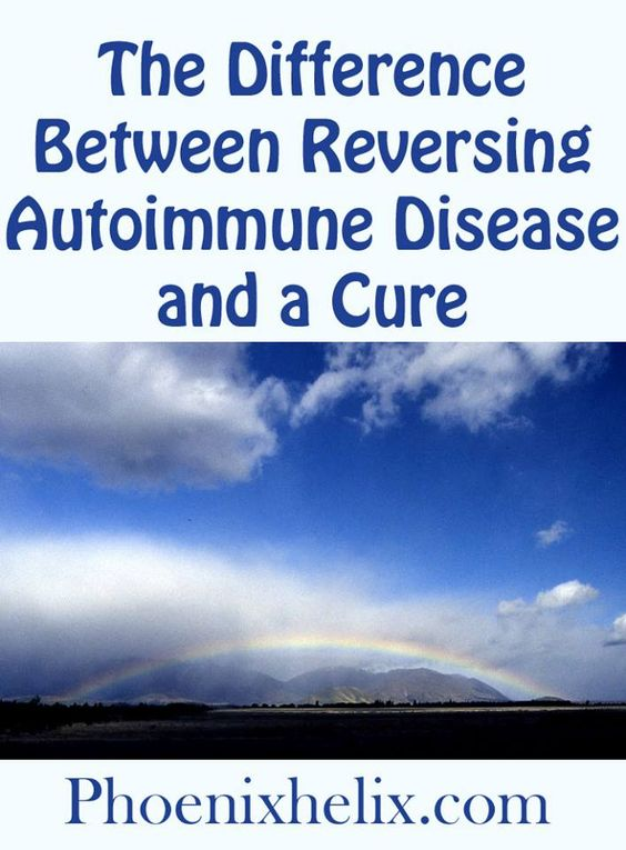 The Difference Between Reversing Autoimmune Disease and a Cure | Phoenix Helix
