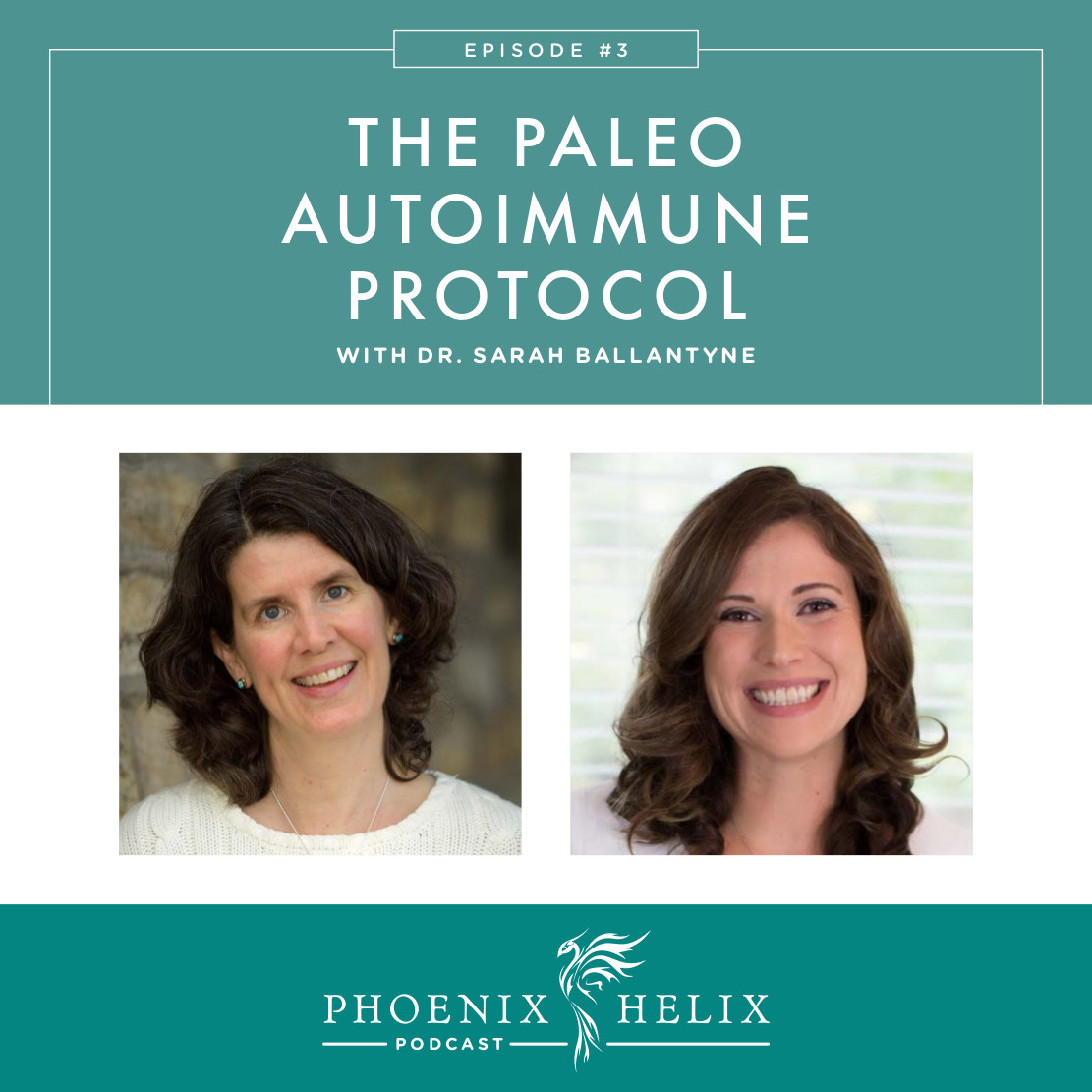 The Paleo Autoimmune Protocol with Dr. Sarah Ballantyne | Phoenix Helix Podcast