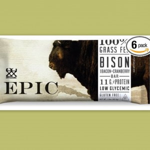 Epic Bison Bacon Cranberry Bar