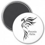 Phoenix Helix Magnet