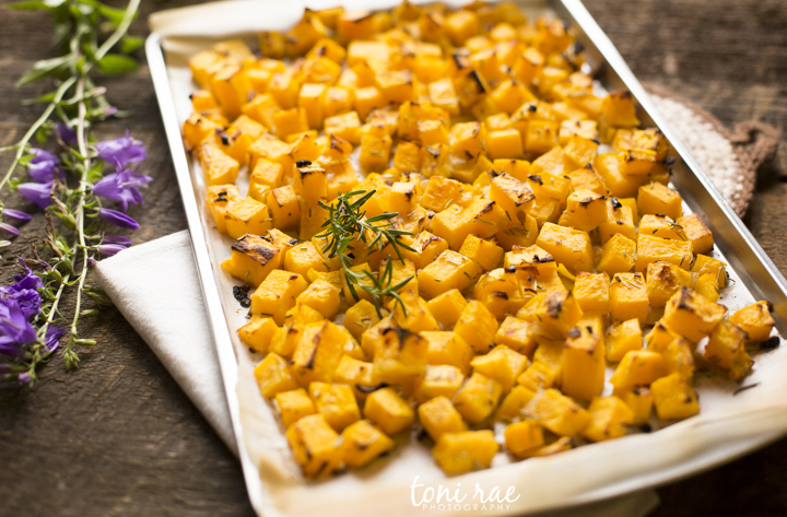Rosemary & Shallot Roasted Butternut Squash | Alternative Autoimmune Cookbook Preview Recipe