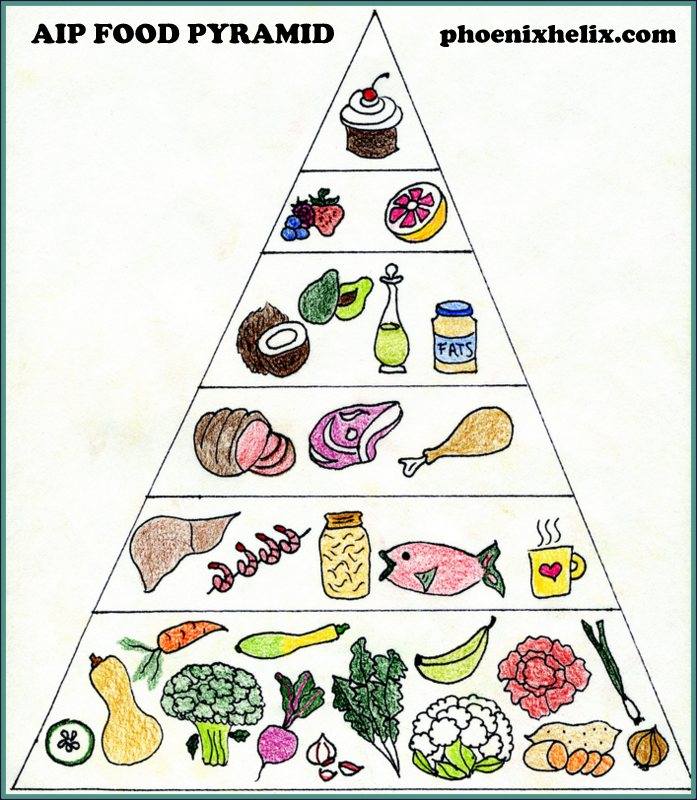AIP Food Pyramid | Phoenix Helix