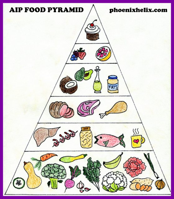 AIP Food Pyramid | Phoenix Helix