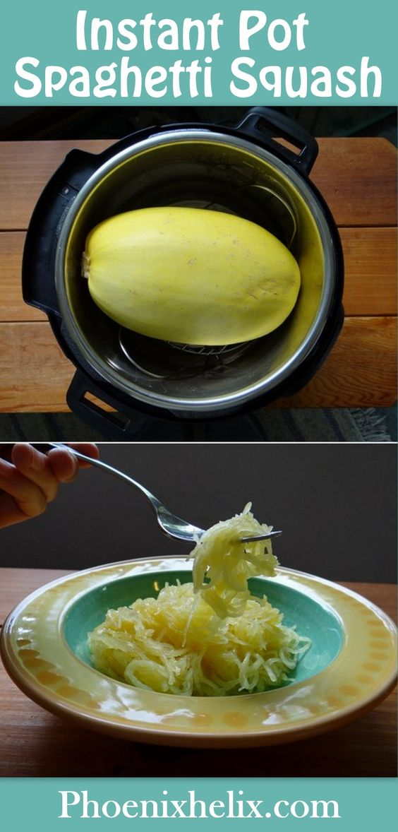 Instant Pot Spaghetti Squash with Duck Fat Apple Juice Glaze | Phoenix Helix