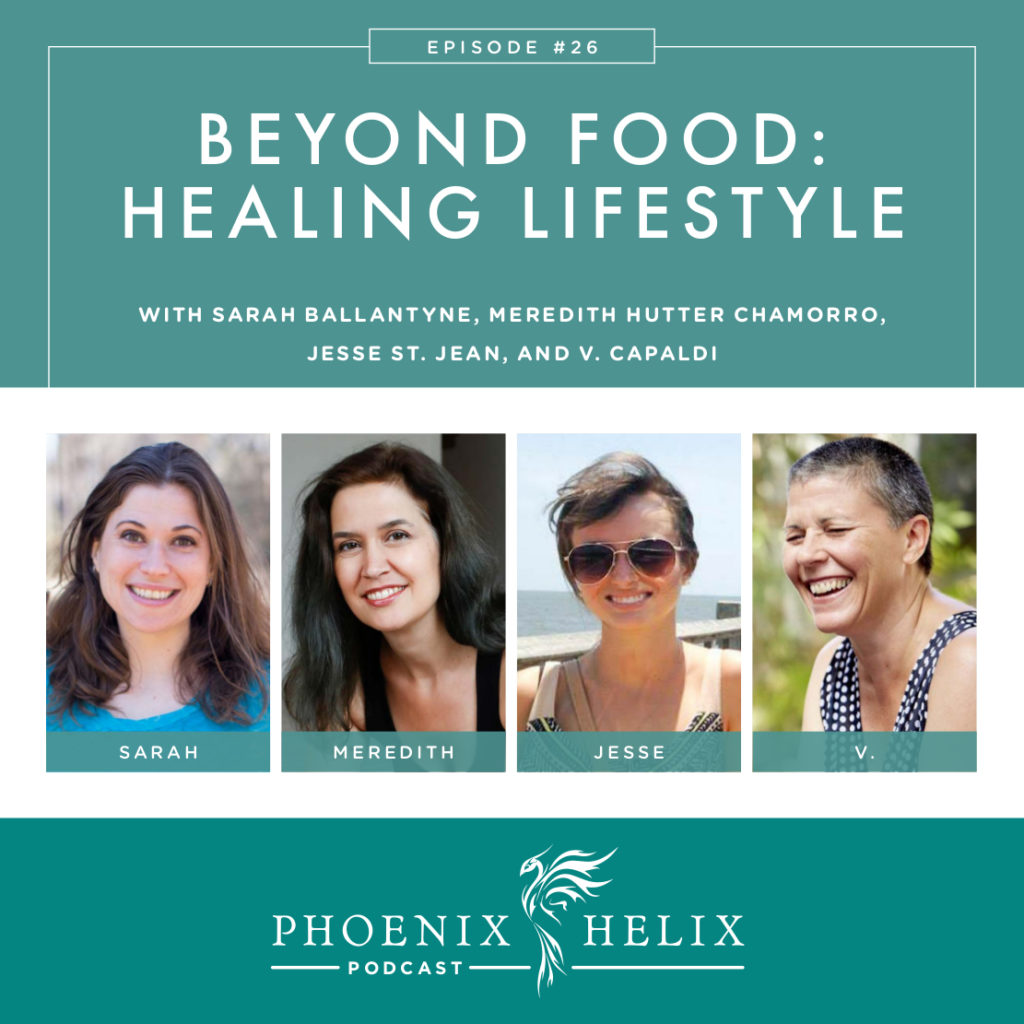 Beyond Food: Healing Lifestyle | Phoenix Helix Podcast
