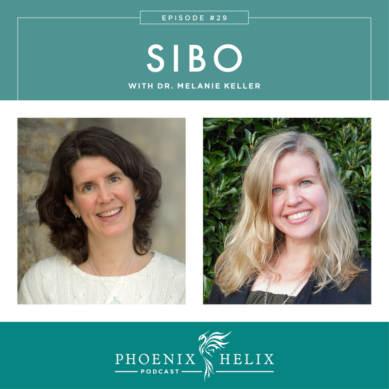 SIBO with Dr. Melanie Keller | Phoenix Helix Podcast