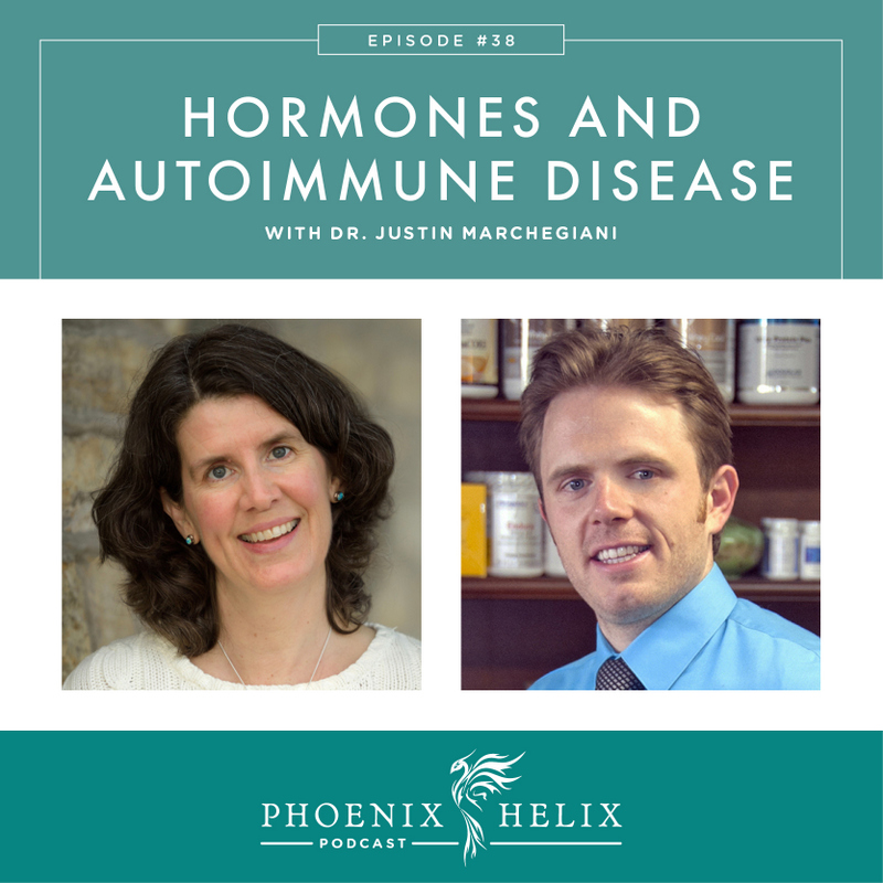 Hormones and Autoimmune Disease with Dr. Justin Marchegiani | Phoenix Helix Podcast