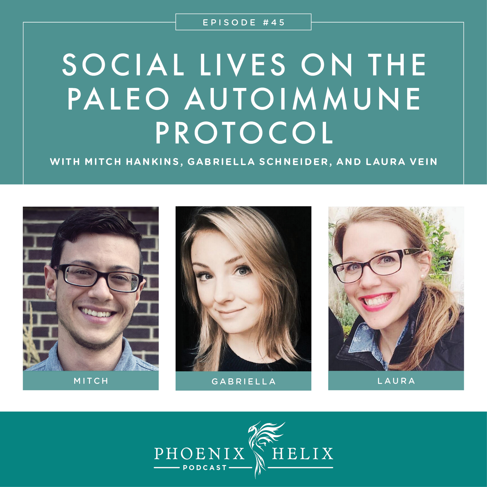 Best of the Phoenix Helix Podcast: Social Lives on the Paleo Autoimmune Protocol