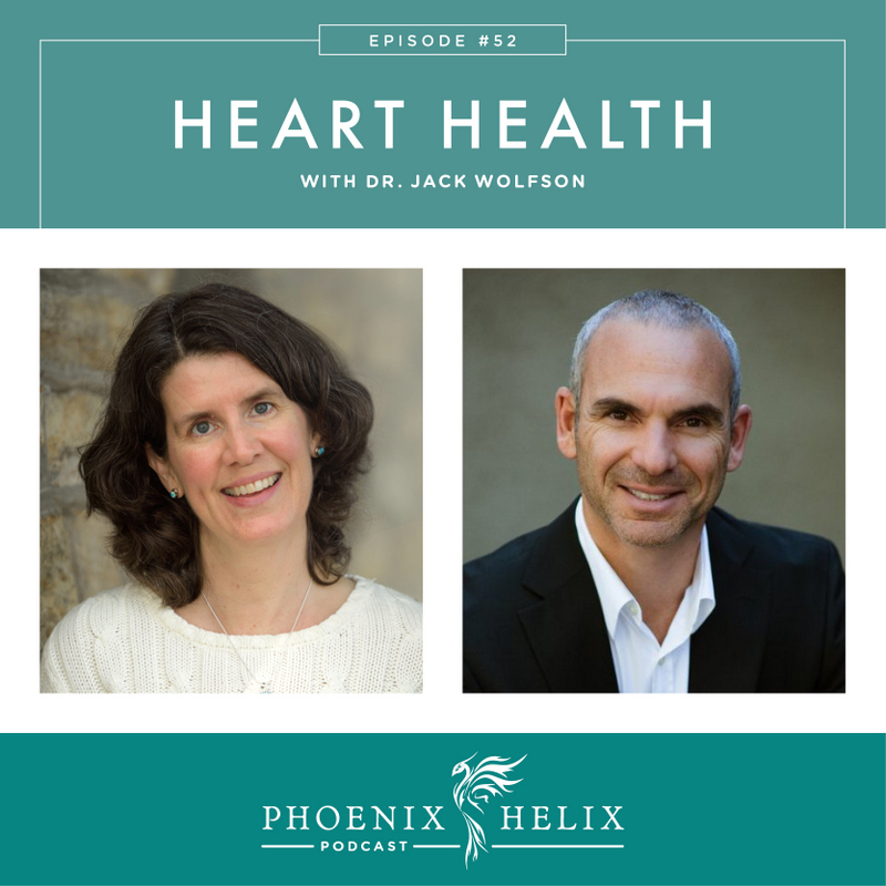 Heart Health with Dr. Jack Wolfson | Phoenix Helix Podcast