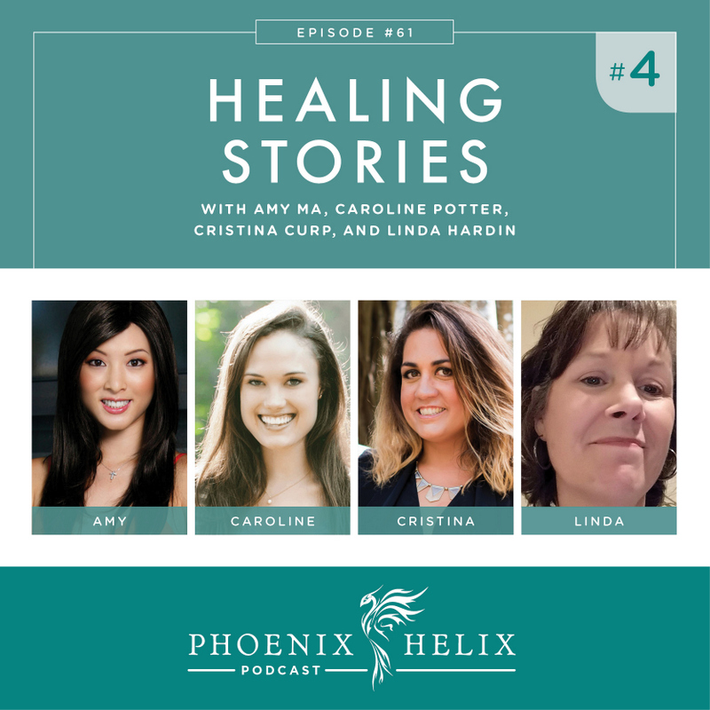 Healing Stories 4 | Phoenix Helix Podcast (Alopecia, Type 1 Diabetes, Hidradenitis Suppurativa, and Mixed Connective Tissue Disease)