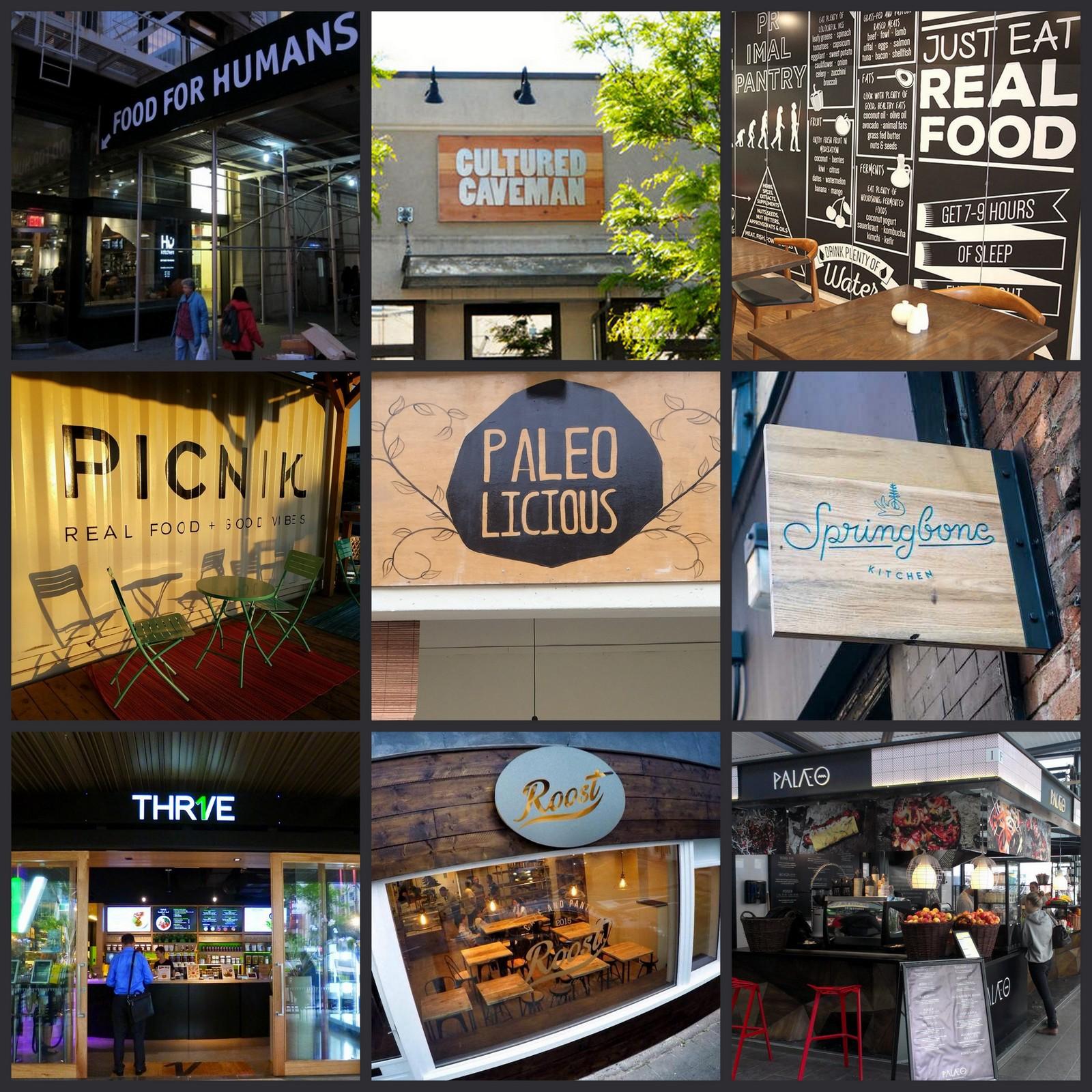 100% Paleo Restaurants