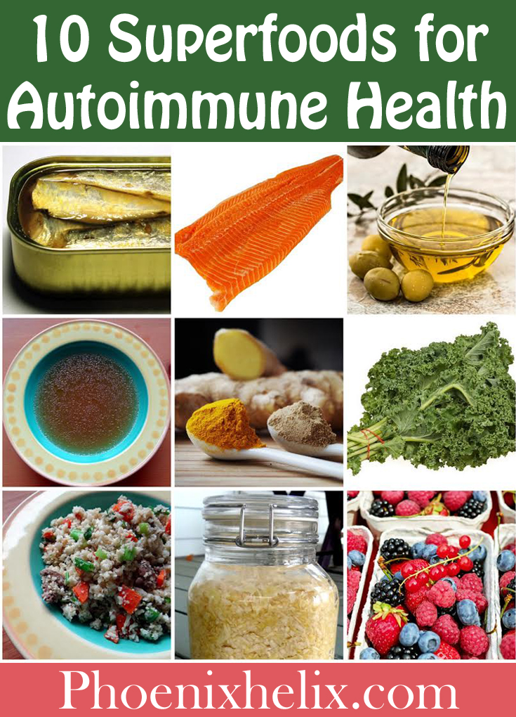 10 Superfoods for Autoimmune Health | Phoenix Helix