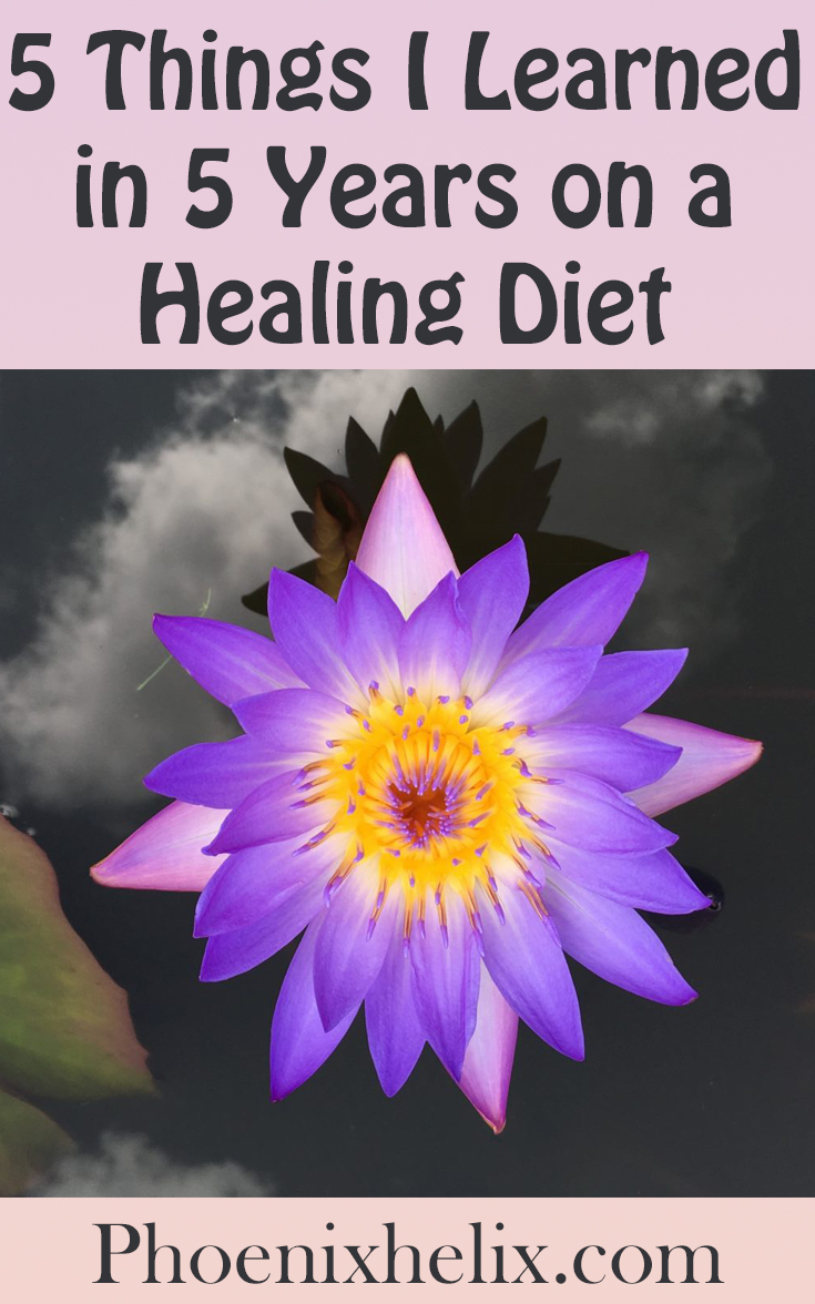 5 Things I Learned in 5 Years on a Healing Diet | Phoenix Helix