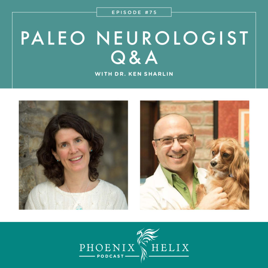 Paleo Neurologist Q&A with Dr. Ken Sharlin | Phoenix Helix Podcast
