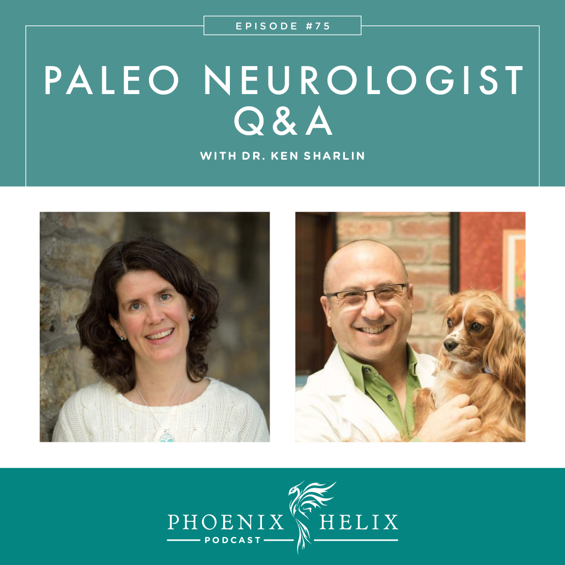 Paleo Neurologist Q&A with Dr. Ken Sharlin | Phoenix Helix Podcast