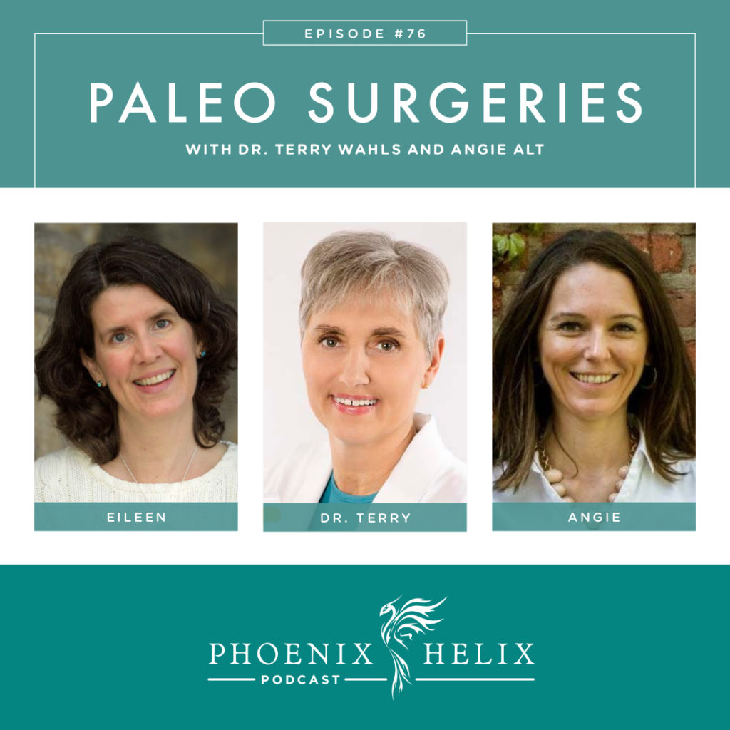 Paleo Surgery Advice with Dr. Terry Wahls and Angie Alt | Phoenix Helix Podcast