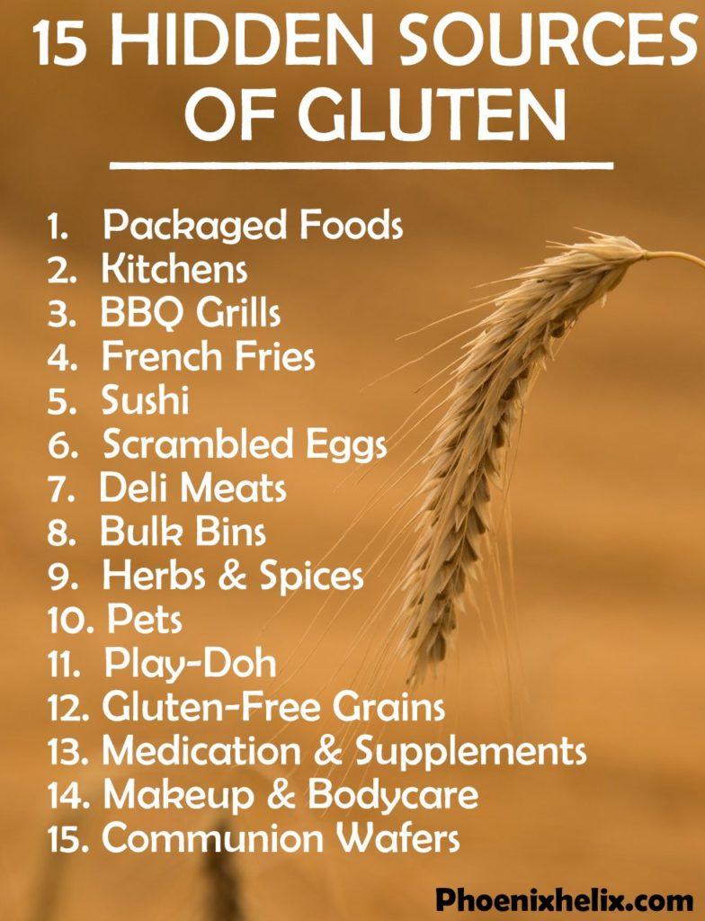 15 Hidden Sources of Gluten | Phoenix Helix