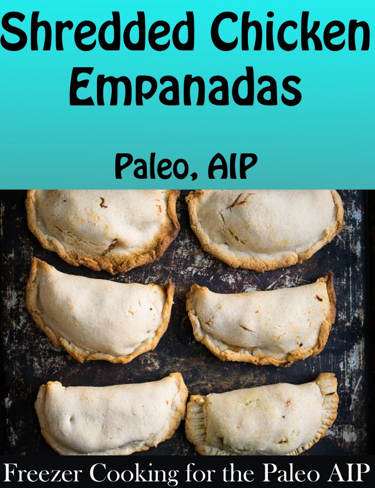 Shredded Chicken Empanadas | Phoenix Helix