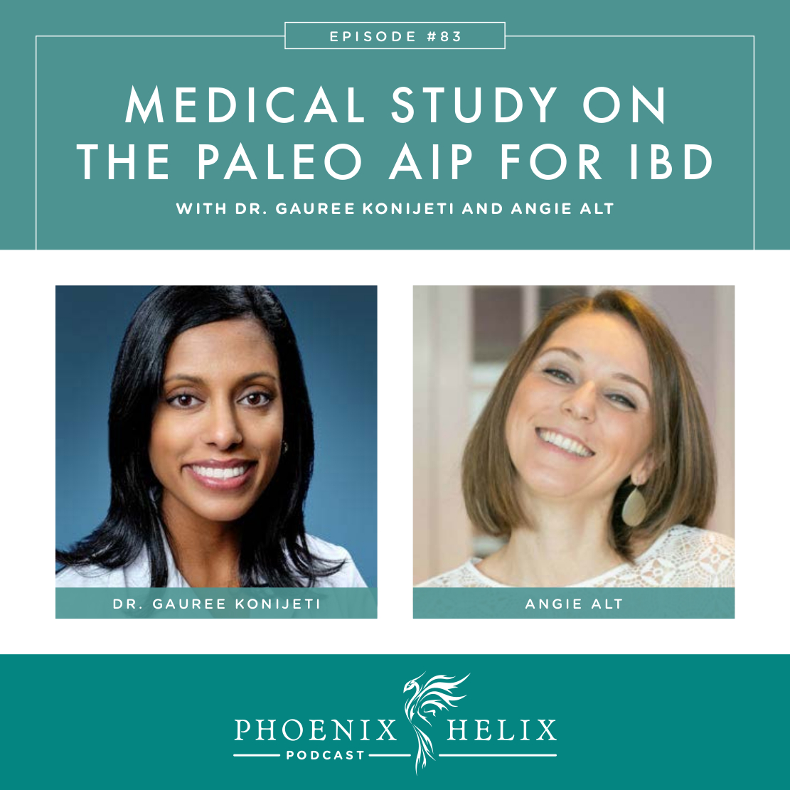 Medical Study on the Paleo AIP for Inflammatory Bowel Disease | Phoenix Helix Podcast