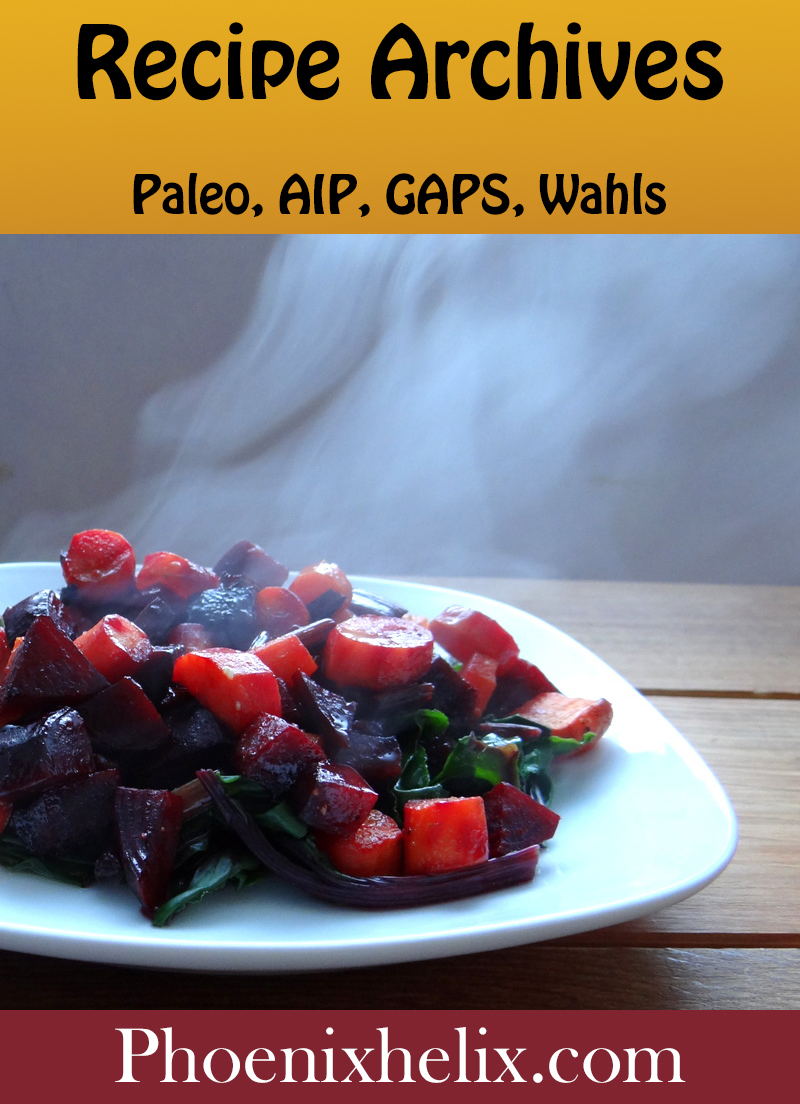 Phoenix Helix : Delicious recipes for the Paleo Autoimmune Protocol (AIP), Wahls Protocol, and GAPS Healing Diets.