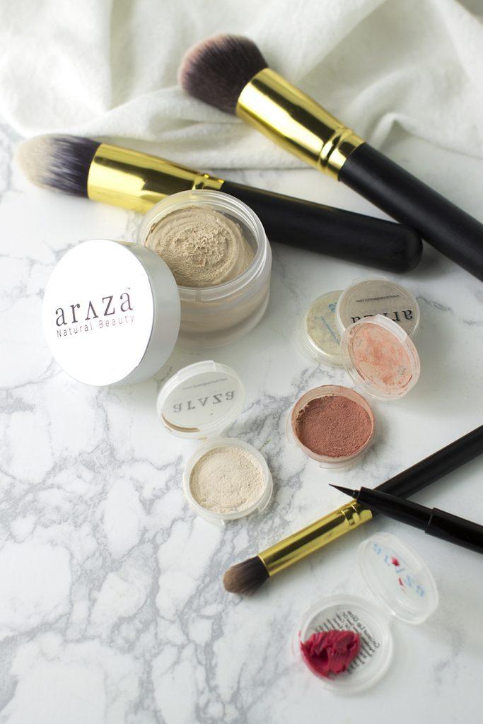 Araza Certified Paleo Makeup Review | Phoenix Helix