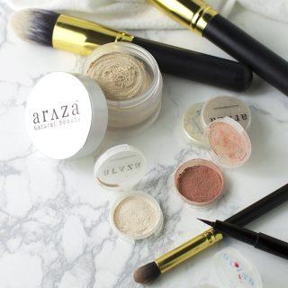 Araza Certified Paleo Makeup Review & Giveaway