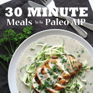 30 Minute Meals for the Paleo AIP – Cookbook Review & Sample Recipe