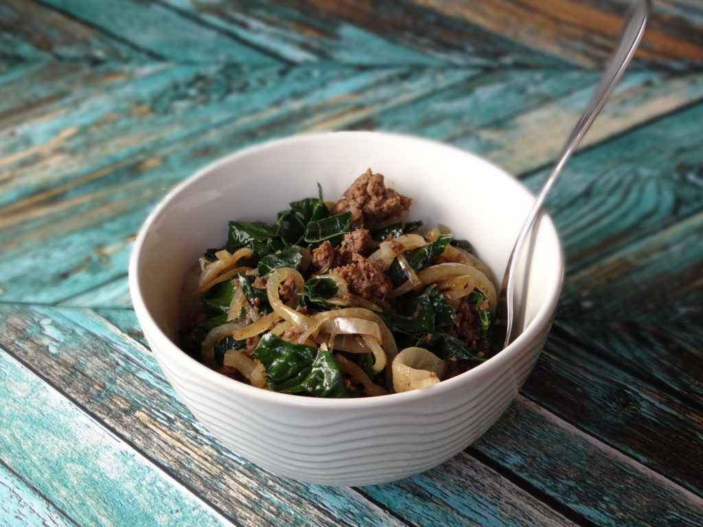 Balsamic Herbed Beef & Kale - Sample Recipe from the Cookbook: 30 Minute Meals for the Paleo AIP