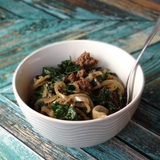 30 Minute Meals for the Paleo AIP Sample Recipe: One-Pot Herbed Balsamic Beef & Kale | Phoenix Helix