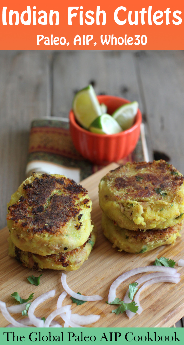 Global Paleo AIP Kitchen Cookbook Review & Sample Recipe: Indian Fish Cutlets | Phoenix Helix