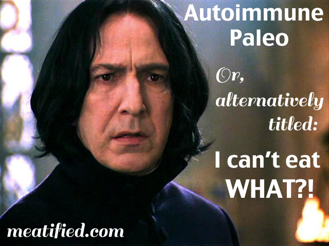 Life on the Paleo Autoimmune Protocol - a Story In Memes | Phoenix Helix