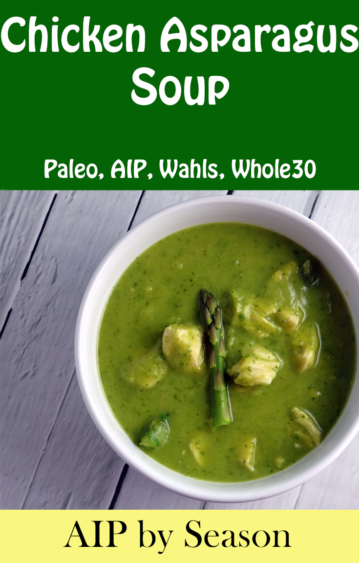 AIP by Season Cookbook Review & Sample Recipe for Chicken Asparagus Soup | Phoenix Helix