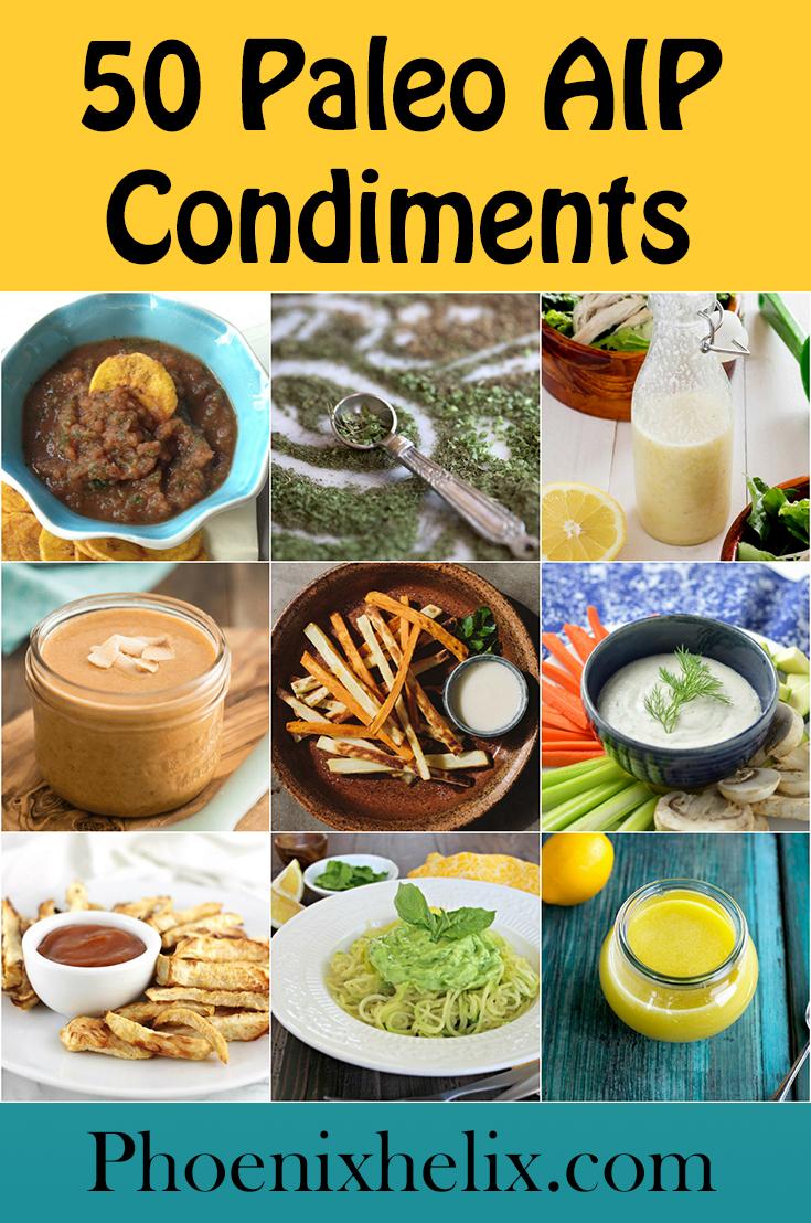 50 Paleo AIP Condiments | Phoenix Helix