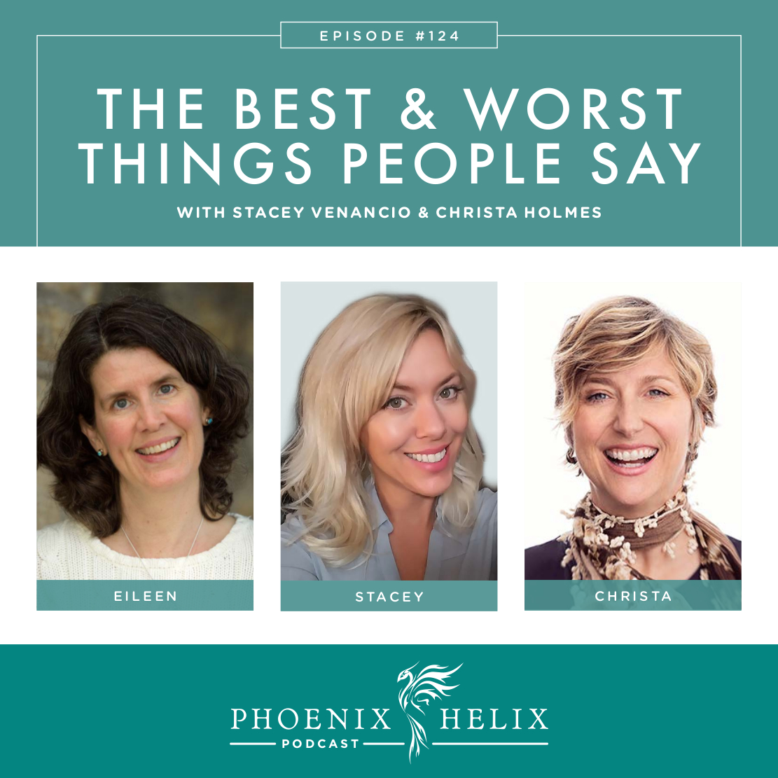 The Best & Worst Things People Say When You Have Autoimmune Disease | Phoenix Helix Podcast